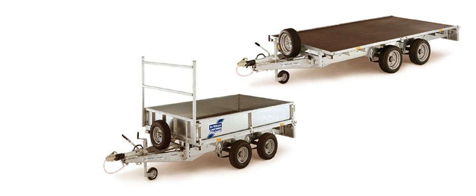 Ifor Williams LT & LM Flatbed Trailers