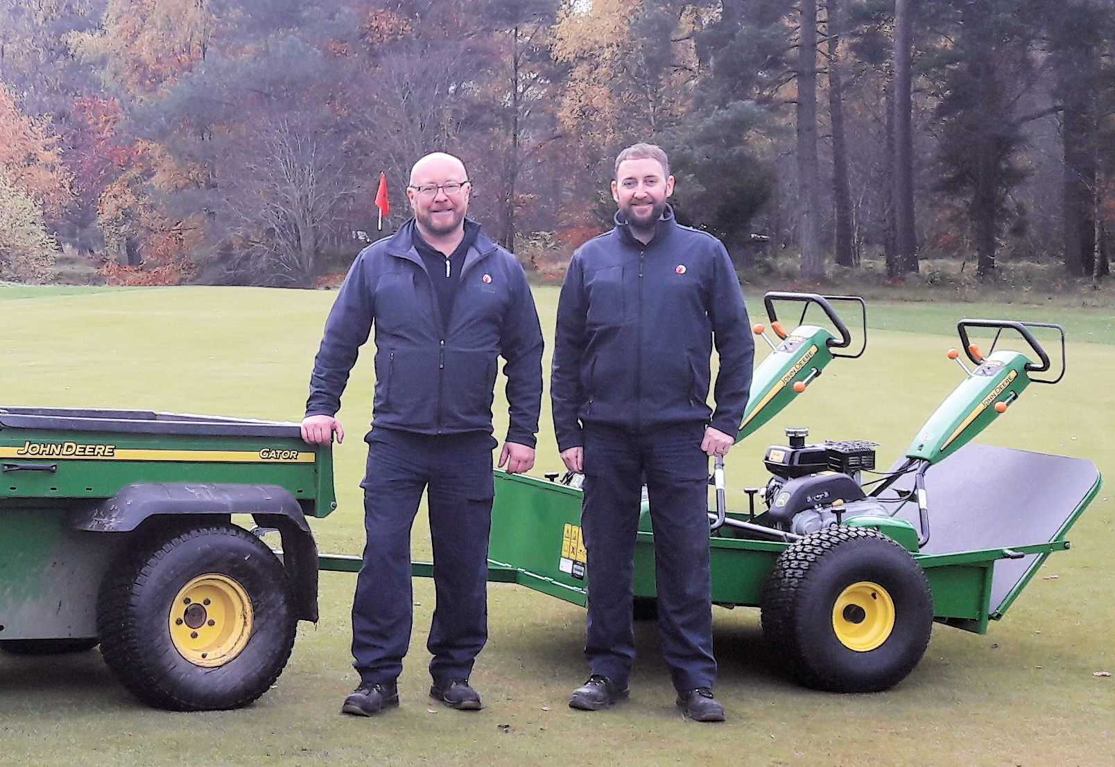 Double A Golf Machinery Partner to Ladybank Golf Club