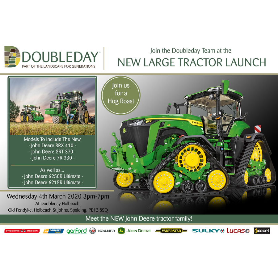 John Deere Large Tractor Launch Event!