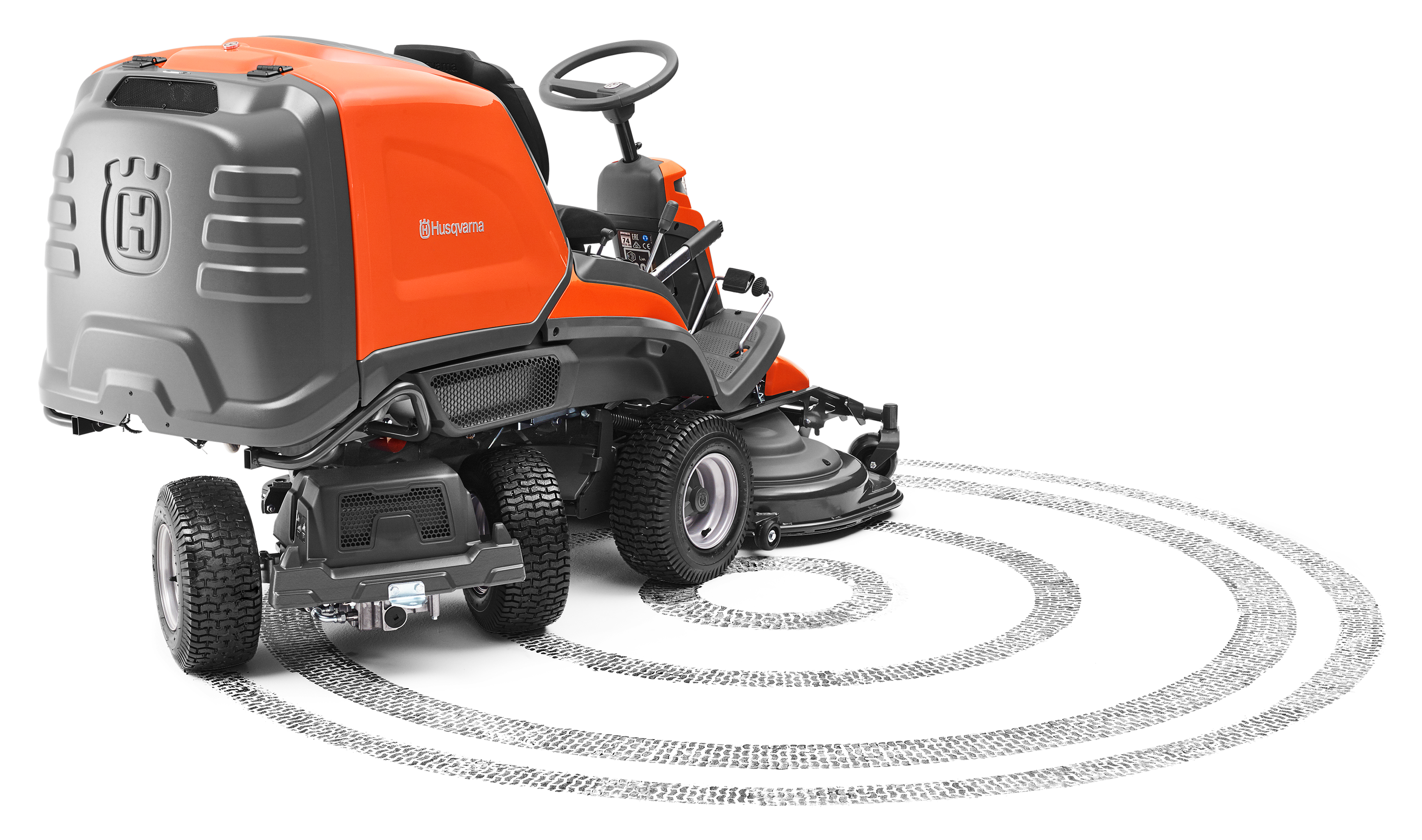 Husqvarna's new our front collector mower
