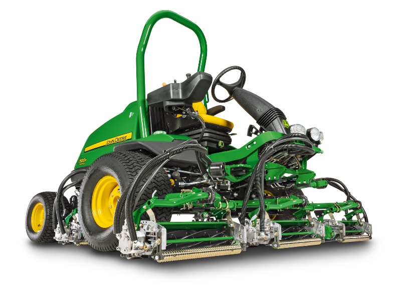 John Deere launches new golf course mowers