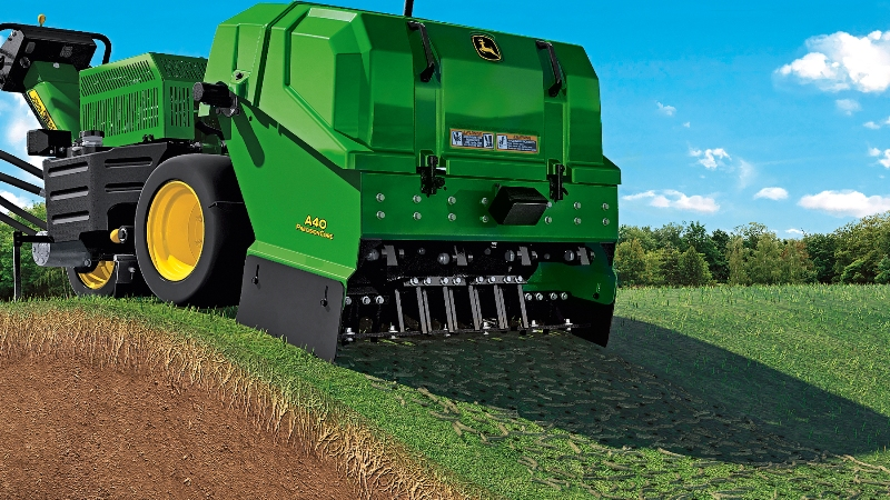 New John Deere aerators for maximum productivity