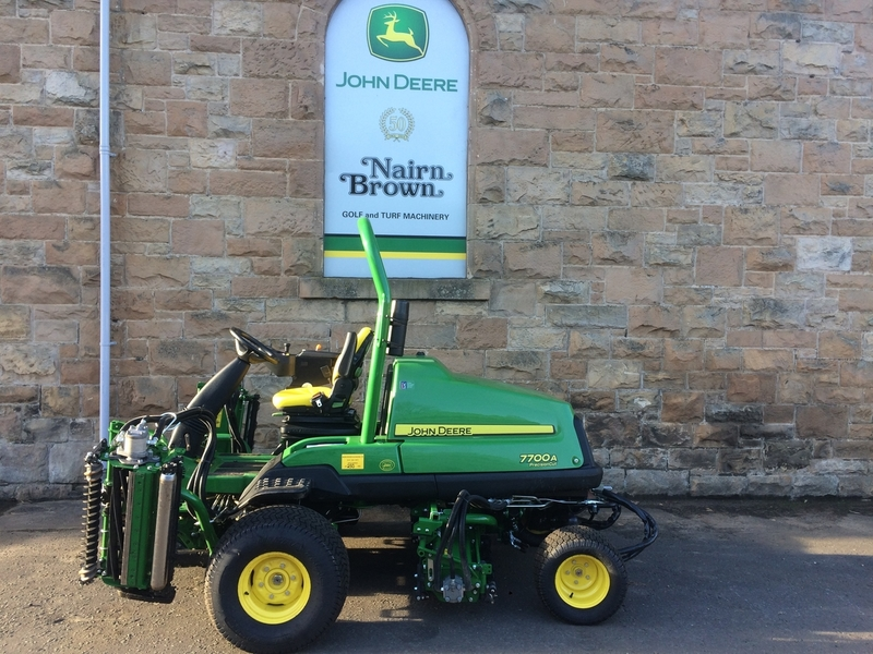 John Deere Ex Demo 7700A PrecisionCut Fairway Mower (Ref 1681)