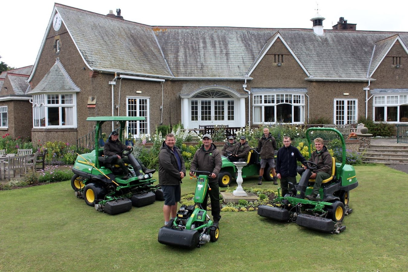 Ganton goes green with Deere