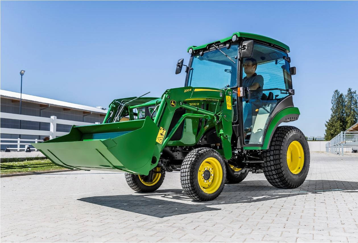 New compact tractors from John Deere