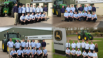 Groups of the latest Ag, Parts and Turf Tech trainees on John Deere's award winning apprenticeship programmes, run in partnership with ProVQ.