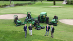 Teesside Golf Club's fleet was supplied by local dealer Greenlay, with a mix of new and used machines bought on a John Deere Financial lease deal.