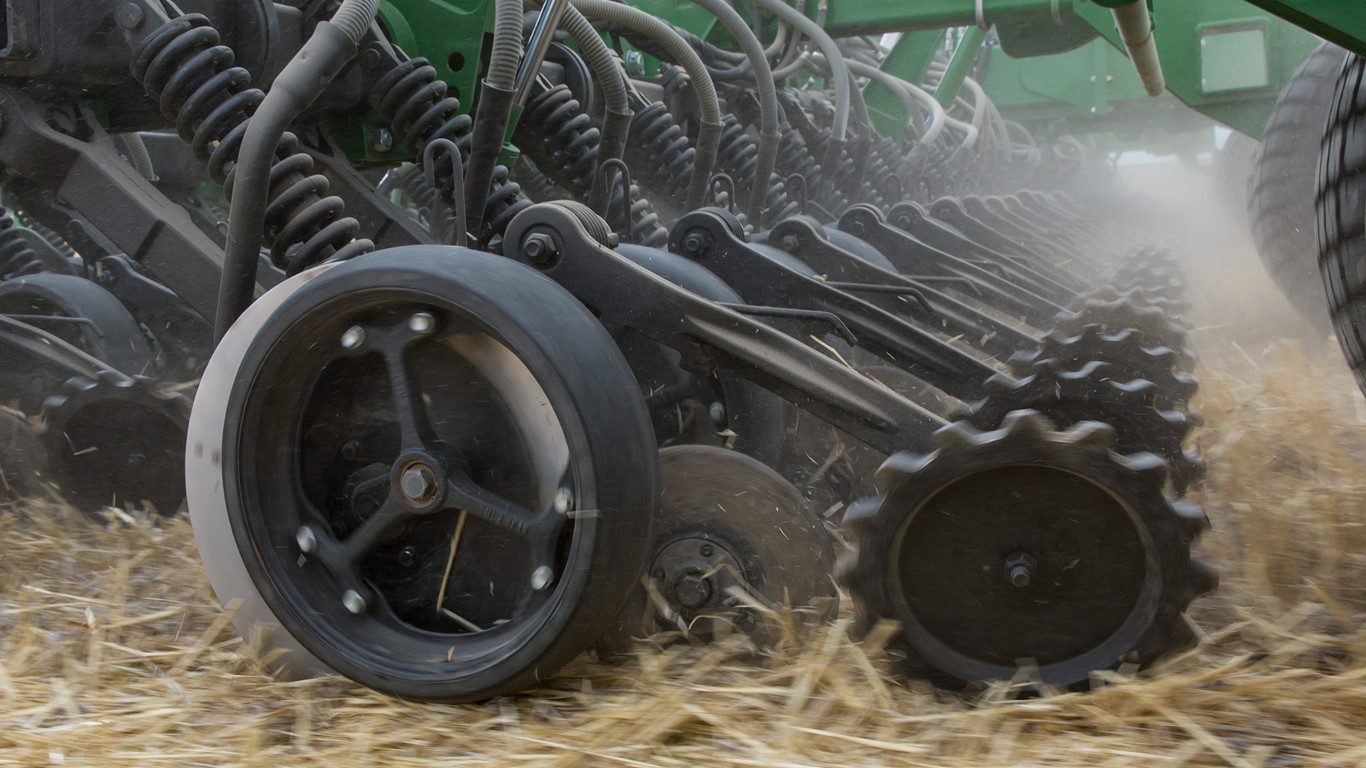 The ProSeries opener for the 750A All-Till drill was launched at Tillage-Live, and will be available for retrofitting or with new machines from January 2019.