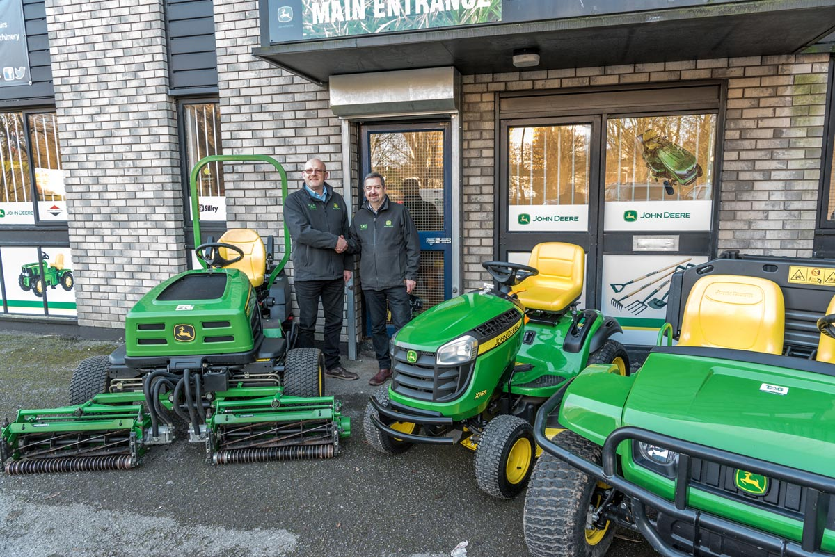 Tallis Amos Group takes on BS Mowers