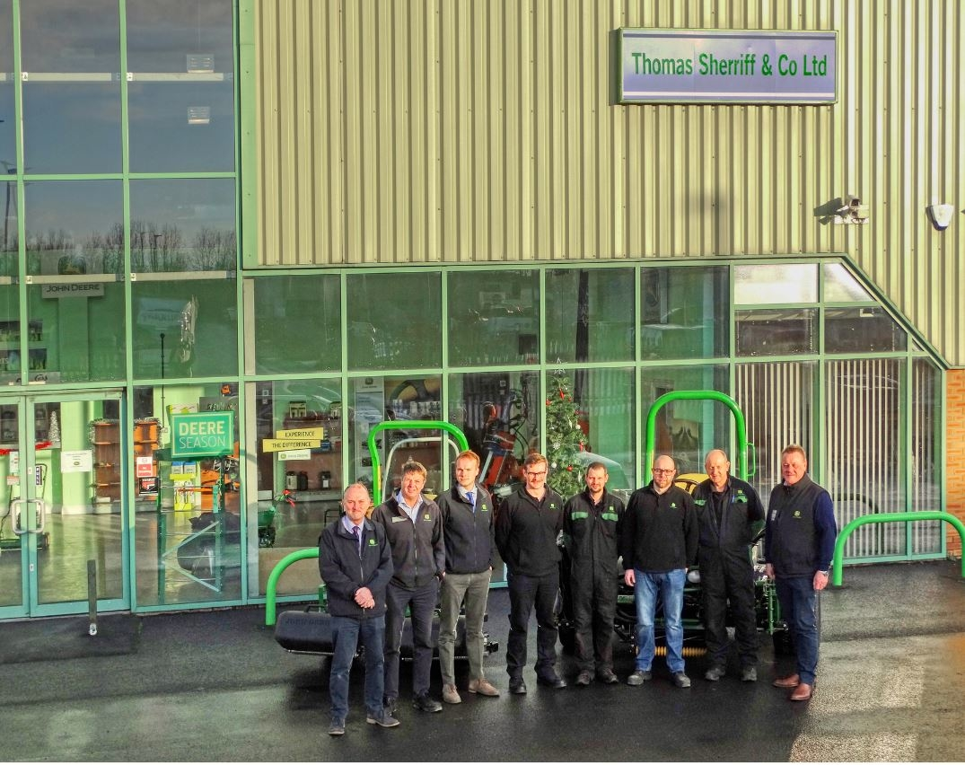 John Deere dealer Sherriff acquires Greenlay