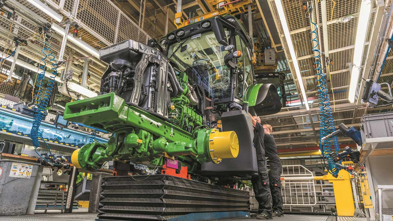 Deere Reports Earnings of $510 Million for Fourth Quarter and $2.159 Billion for Year