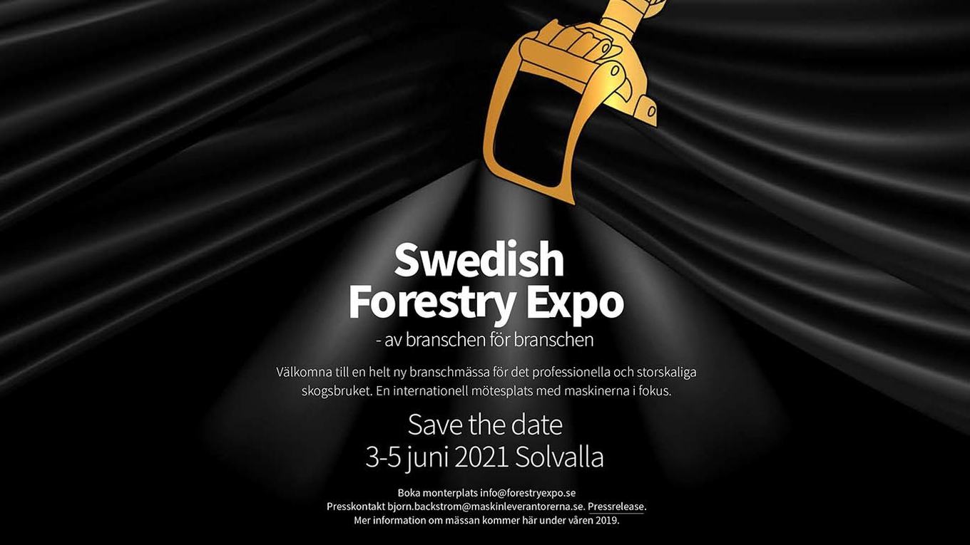 Swedish Forestry Expo - ny skogsmaskinmässa.