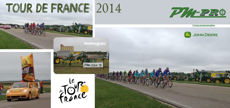 PM-Pro face au Tour de France 2014