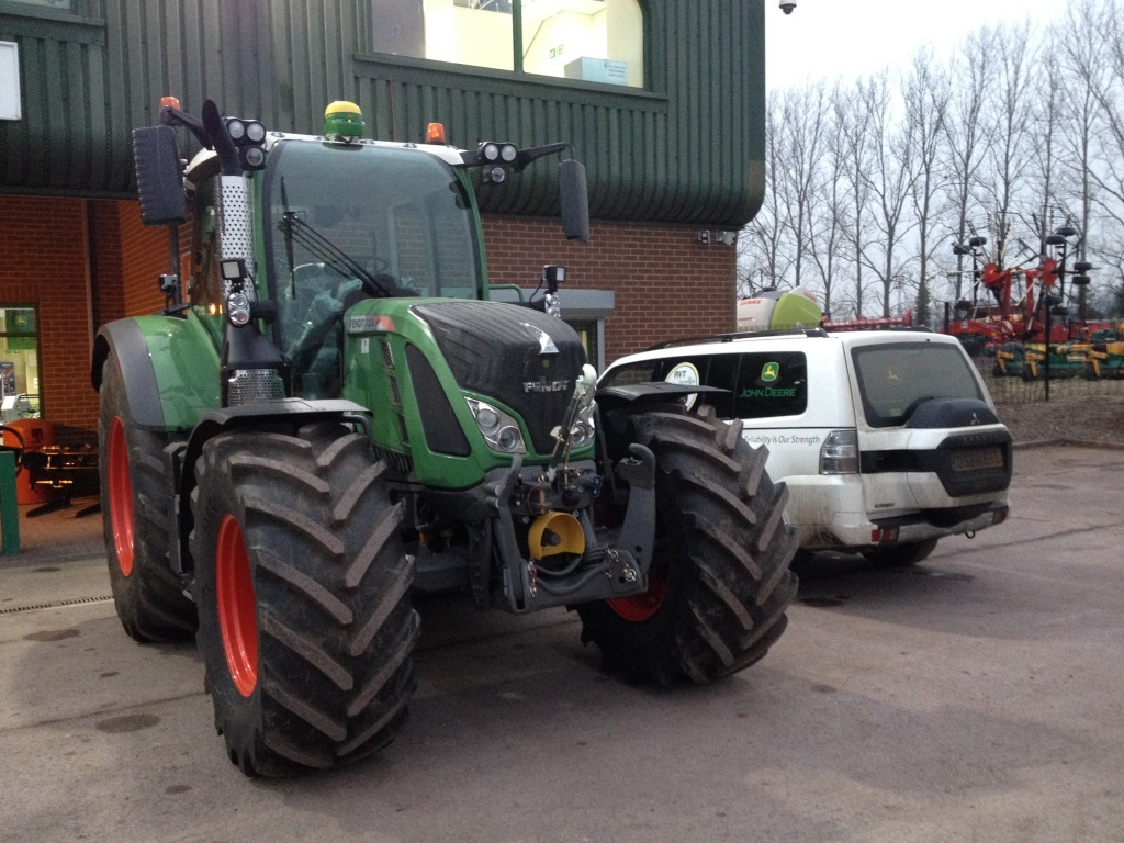 Fendt Tractor Fitted in Feb 2015
