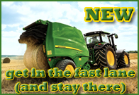 New John Deere 900 Series Round Balers - GET IN THE FAST LANE, (and stay there).