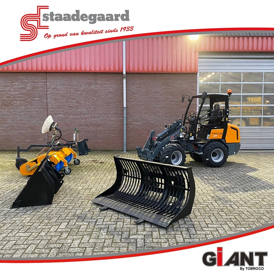 Giant, Staadegaard, Dealer, Kniklader, wiellader, V452T, HD, Xtra, X-tra